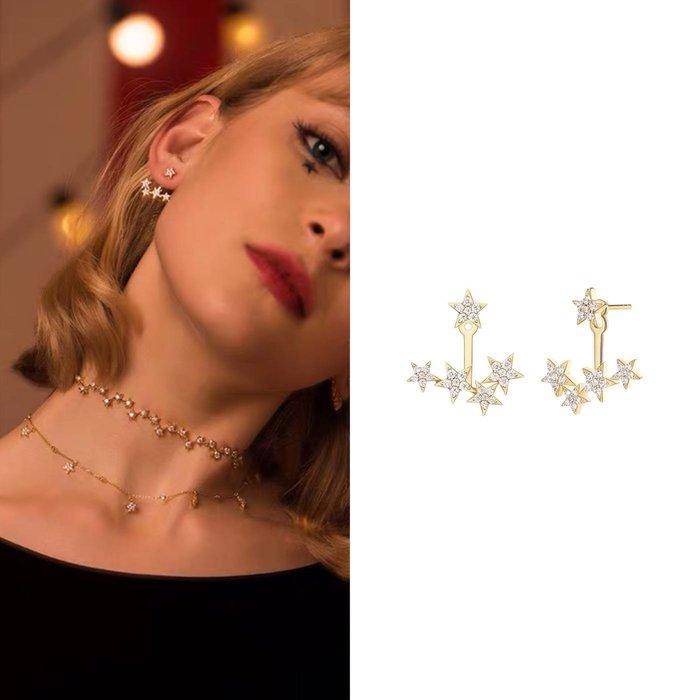 💎1867、神奇馬戲團系列 時尚珠寶夢幻星光輕奢耳環💎  精品 耳環 輕奢飾品 正韓飾品 925純銀針
