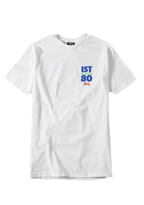 ☆AirRoom☆【現貨】STUSSY Ist Since 80 Tee 黑 白 字體 LOGO 1903723