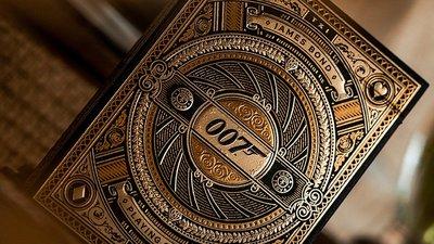 【天天魔法】【S1388】正宗原廠~007 James Bond 撲克牌(T11最新撲克牌)