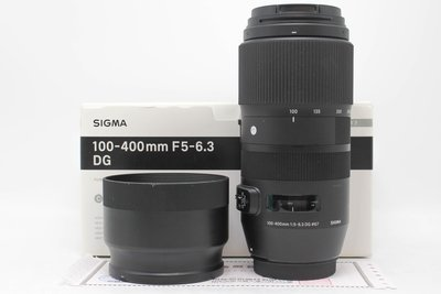 【台南橙市3C】Sigma 100-400mm f5-6.3 DG OS HSM for Canon #53114