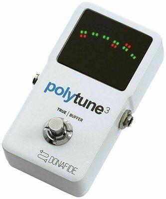 【成功樂器 . 音響】TC Electronic Polytune 3 buffer 效果器 BONAFIDE 公司貨