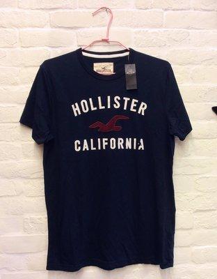 *【小pen潮牌T恤】...HOLLISTER 潮牌T恤, 100%正品(藍色)