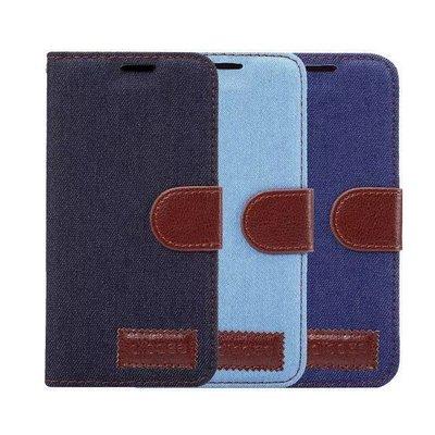 Samsung Galaxy S9 Plus 特色 牛仔紋 包邊軟殻 插卡皮套 機殼 保護殼 case cover