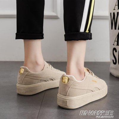 女鞋新款帆布鞋女學生韓版原宿ulzzang百搭小白鞋1992板鞋子DBX