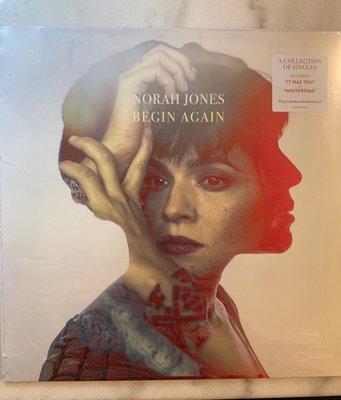 (全新未拆封)諾拉瓊絲 Norah Jones - Begin Again 美好前程 黑膠LP