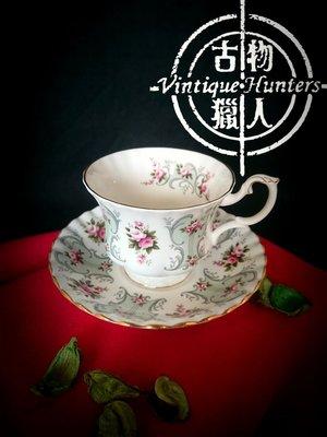 [古物獵人台中門市] 英國名瓷 皇家亞伯特 ROYAL ALBERT LOVE STORY SERIES PAULA 系列 骨瓷 杯盤組 咖啡杯 英製