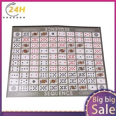 sequence game 序列迷陣 益智桌遊 聚會party遊戲SH雜貨XCZ432 茶茶物語