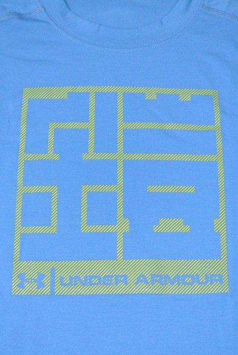 貳拾肆棒球-日本帶回。限定商品Under Armour loose fit heatgear短袖練習衣/M
