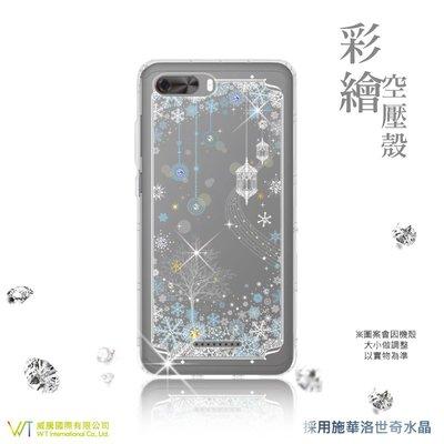 【WT 威騰國際】WT® SUGAR Y12s 施華洛世奇水晶 彩繪空壓殼 保護殼 軟殼 -【映雪】