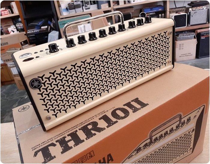 ♪♪學友樂器音響♪♪ YAMAHA THR10II 多功能 吉他音箱 20瓦 電吉他 貝斯可用 藍芽 行動裝置