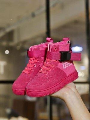 ZIHOPE 女童靴 秋款韓版女童靴子短靴單靴公主鞋男童鞋高筒兒童運動鞋寶寶鞋ZI812