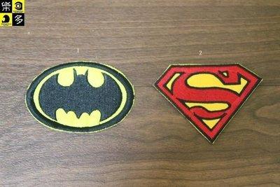 (I LOVE樂多)經典布章 蝙蝠俠 超人