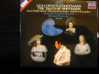 Bonynge,Offenbach-Les Contes D'Hoffmann,奧芬巴哈-霍夫曼的故事,2CD,片況佳。