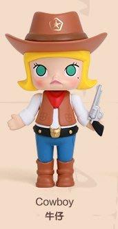 【QQ公仔物語】【AA067】【現貨】Molly Kennyswork 尋找大耳牛系列 盒玩 單賣 西部牛仔