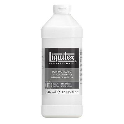 板橋酷酷姐美術 法國麗可得liquitex pouring medium潑灑媒劑946ml