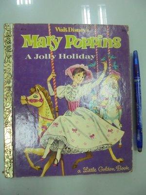 書皇8952:童書 D3-3bc☆『Mary Poppins 歡樂滿人間』Annie《GOLDEN PRESS》