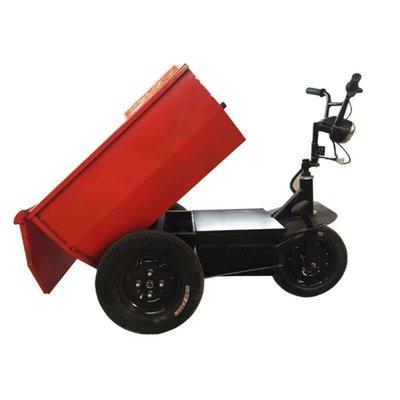建筑工地小騎兵電動手推車搬運沙石板材農用養殖場小空間電動三輪【阿佳的店】