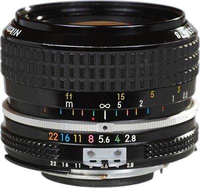 全新 Nikon Ai 28mm F2.8   (手動對焦鏡),F/2.8 大光圈 鏡頭  完整盒裝 Ais
