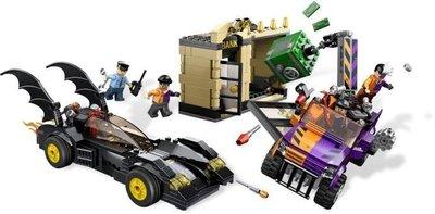 LEGO 樂高 6864 蝙蝠俠 雙面人追逐