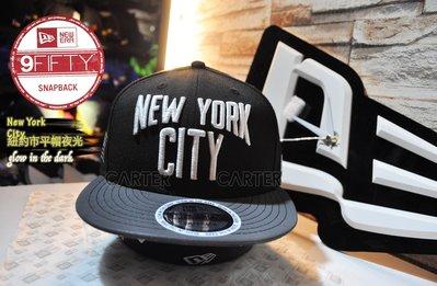 New Era Branded New York City 紐約市夜光帽簷迷彩美國國旗後扣帽 Snapback