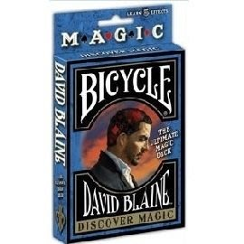 Bicycle DAVIDBLAINE Discover Magic 大衛 發現魔術牌
