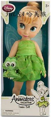 哈美族 美國迪士尼 Disney store Animators 手繪Q版娃娃 花仙仔 Tinker Bell 40公分