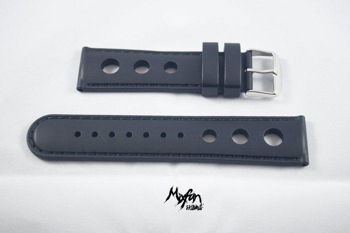 日本進口矽膠錶帶,皮帶樣式,軟性好戴,不鏽鋼錶帶,22mm