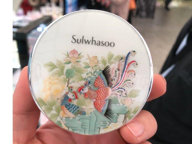 韓國代購☆Sulwhasoo 雪花秀 2019鳳凰限量款 滋晶雪瀅 無瑕光感氣墊粉霜 14g*2