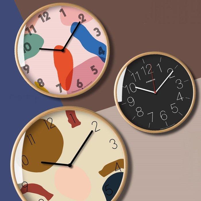 【Uluru Design】北歐簡約時尚風格 圓形掛鐘 12吋 掛鐘 時鐘 造型 鐘 壁鐘 鬧鐘 工業 loft 傢飾
