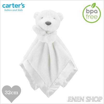 『Enen Shop』@Carters 甜蜜小熊款baby安撫毛巾 #67607|one size 新生兒/彌月禮