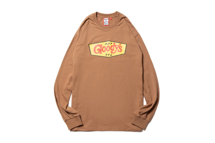 """[ LAB Taipei ] have a good time """" GOODY'S L/S TEE """""""