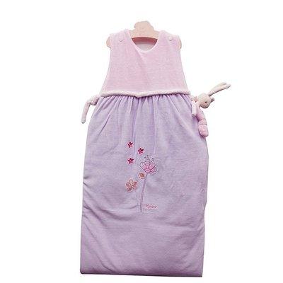 🌟正版🌟【 法國 Kaloo 】 Lilirose 保暖鋪棉成長防踢睡袋 ( 附上可愛的安撫兔兔 )  ( 大 )
