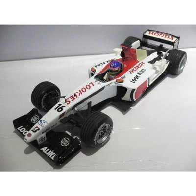 MINICHAMPS 1/18 BAR HONDA 005 JACQUES VILLENEUVE 2003 #16 (BUY)