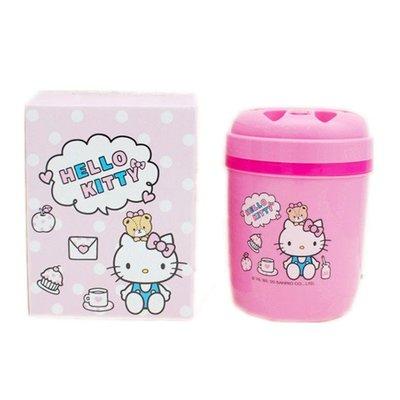 303生活雜貨館 台灣製Hello Kitty凱蒂貓 小冰桶造型.手提攜帶式水壺 4713077268452