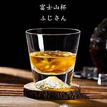 富士山杯 雪山杯 玻璃杯 酒杯 冷飲杯 水晶玻璃杯 果汁杯 創意 早餐杯 水杯【ZACH & VIVI 窩窩宅】