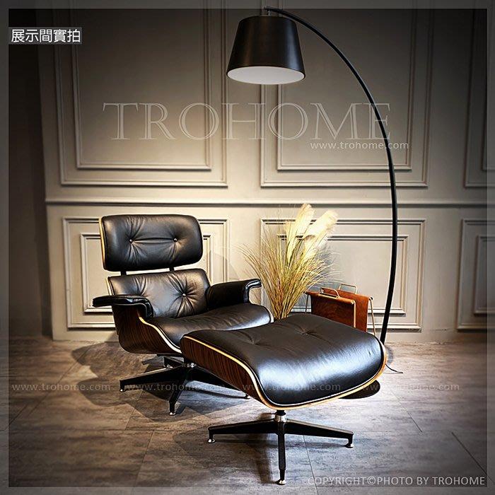 【拓家工業風家具】Eames經典復刻真皮單人椅+腳踏/LOFT辦公接待椅/北歐風單人雙人三人沙發單人椅美式主人椅