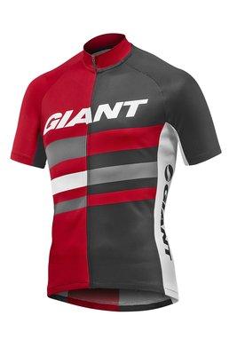 全新 新款 捷安特 GIANT PURSUE UPF30+防曬 吸濕排汗短袖車衣 公司貨 黑紅