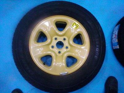 原廠 備胎 16吋 鈴木金吉星GRAND VITARA JP 5孔/114.3 5/114.3 輪胎附贈2005年