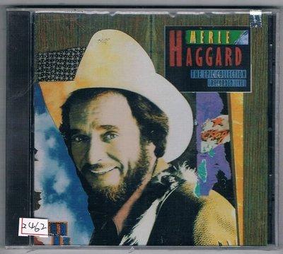 [鑫隆音樂]西洋CD-MERLE HAGGARD:THE EPIC COLLECTION LIVE-原裝進口盤 (全新)
