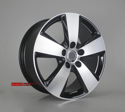 全新訂製 BENZ G系列 適用 鍛造輕量化鋁圈 19吋 5孔130 8.5J ~9.5J 亮黑鑽石刀車面(歐洲製)
