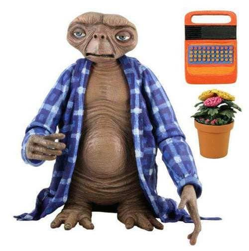 BEETLE 環球影城 NECA THE EXTRA-TERRESTRIAL E.T. 睡衣版 外星人 公仔 吊卡