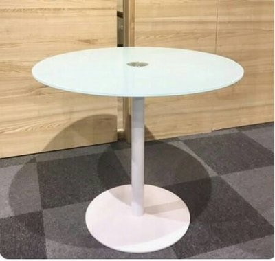 《瘋椅世界》OA辦公家具 全系列 烤漆玻璃洽談圓桌 特價優惠中(數量有限 售完即停)