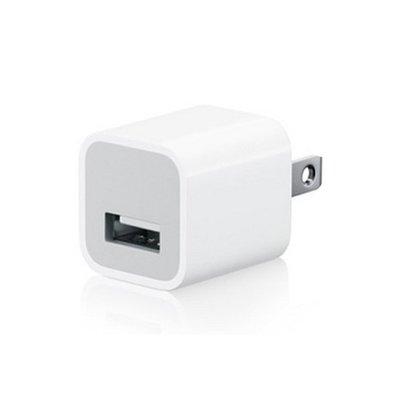 【3C生活家】USB供電頭 豆腐頭 家電110V轉USB 蘋果 安卓 5V充電器 5V1A 安規 商檢字號R37951