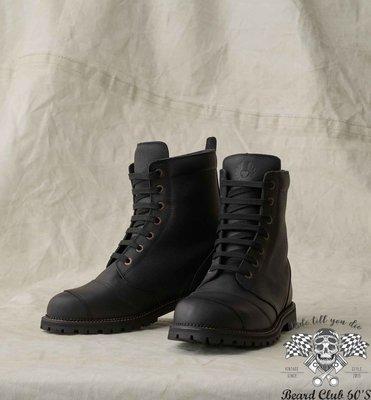 ♛大鬍子俱樂部♛ Belstaff ® Resolve Boot 貝克漢 歐制 復古 防水 透氣 牛皮 短筒 車靴 黑