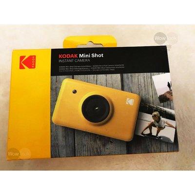 【Wowlook】全新品 柯達 KODAK Mini Shot MS-210 拍立得相機/相印機 可連線手機列印
