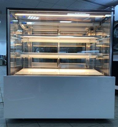 冠億冷凍家具行 [嚴選新中古機] 台灣製瑞興四尺直角蛋糕櫃/西點櫃、冷藏櫃、冰箱、巧克力櫃/展示機出售/220V