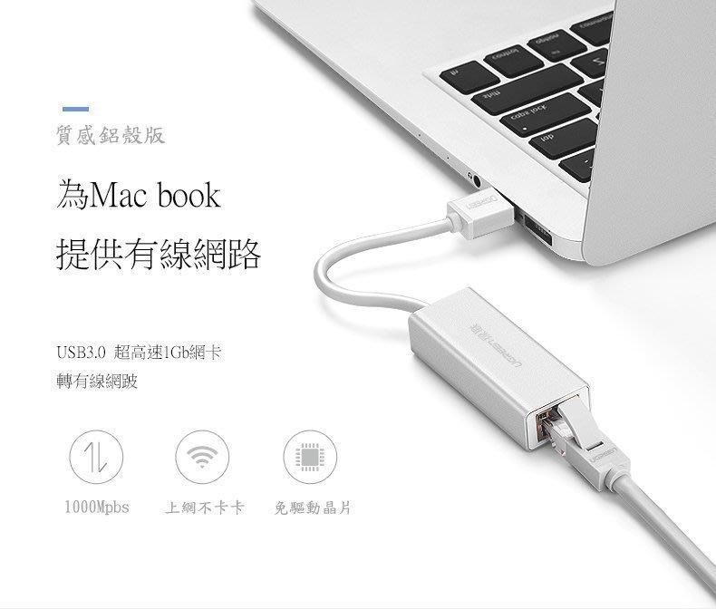 蘋果usb網卡 usb轉有線網路 usb轉Giga網路卡 筆電網路卡(適合任何筆電及pc) 網卡救星 USB網路卡