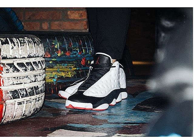 NIKE AIR JORDAN 13 RETRO 白黑 熊貓 貓熊 男鞋 女鞋 情侶鞋414571-104