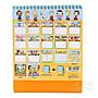 香港限定 史努比 2021桌曆 桌上型月曆 有農曆 記事本 正版 snoopy 可愛 卡通文具 交換禮物_貨出去