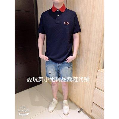 GUCCI GG 男裝polo 衫 寬鬆版